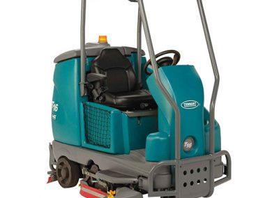 T16 Battery Ride-On Floor Scrubber