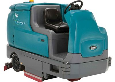 T17 Battery-Powered Ride-On Floor Scrubber