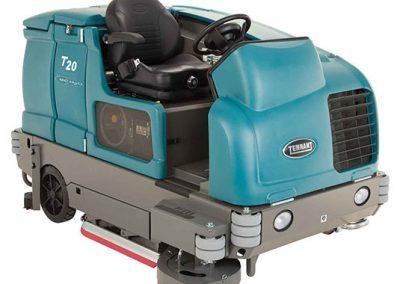 T20 Industrial Ride-On Floor Scrubber
