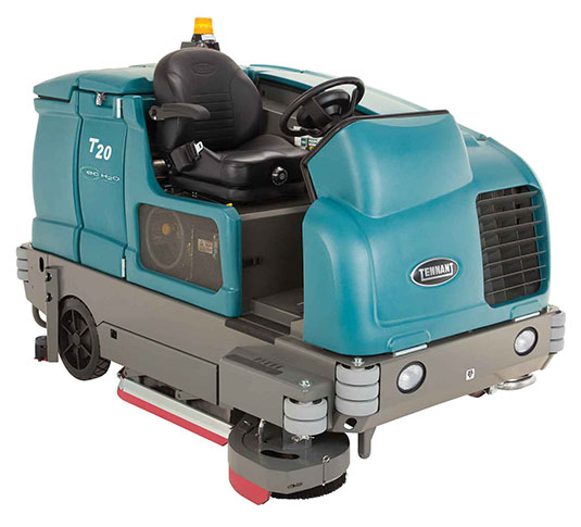 T20 Industrial Ride-On Floor Scrubber