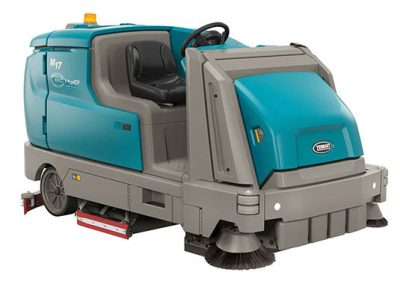 M17 Battery-Powered Ride-On Sweeper-Scrubber