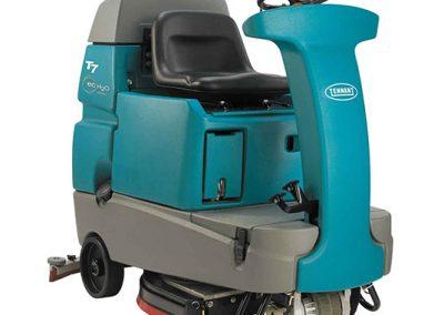 T7 Micro Ride-On Floor Scrubber