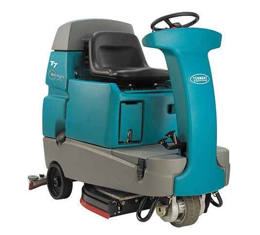 T7 Micro Ride-On Floor Scrubber