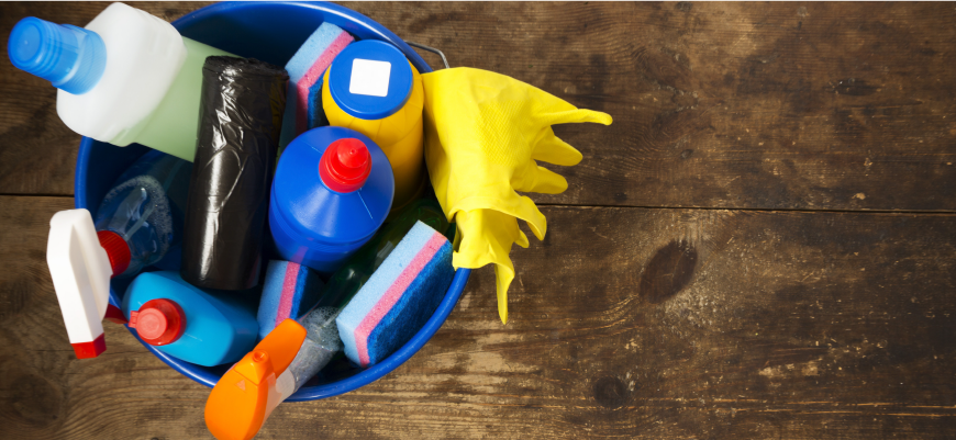 Don't Forget to Clean Your Cleaning Supplies
